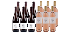 Rosé and Chardonnay Mixed Case